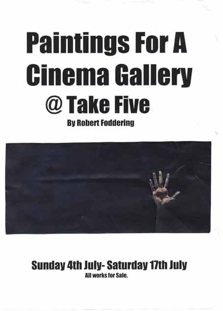 paintings for a cinema gallery